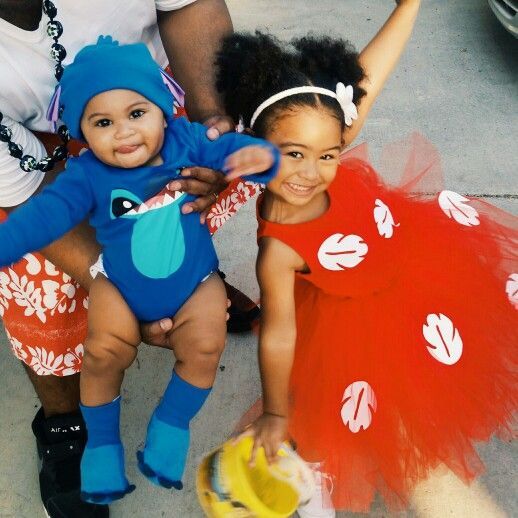Lilo And Stitch Halloween 2015 Brother And Sister Sibling Halloween Costume Sister Halloween Costumes Toddler Halloween Costumes Cool Halloween Costumes