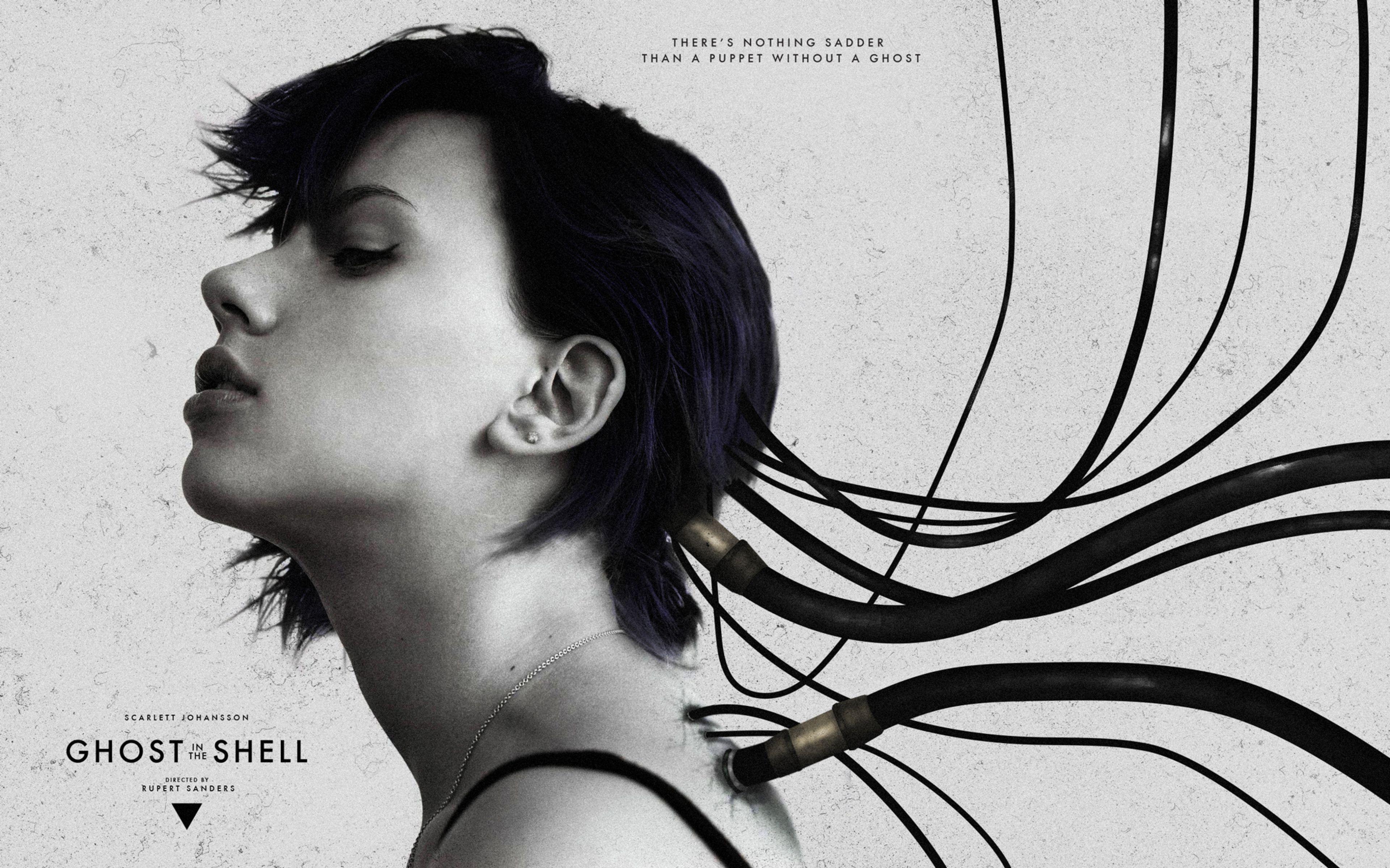Download Wallpaper 3840x2400 Ghost In The Shell, Scarlett