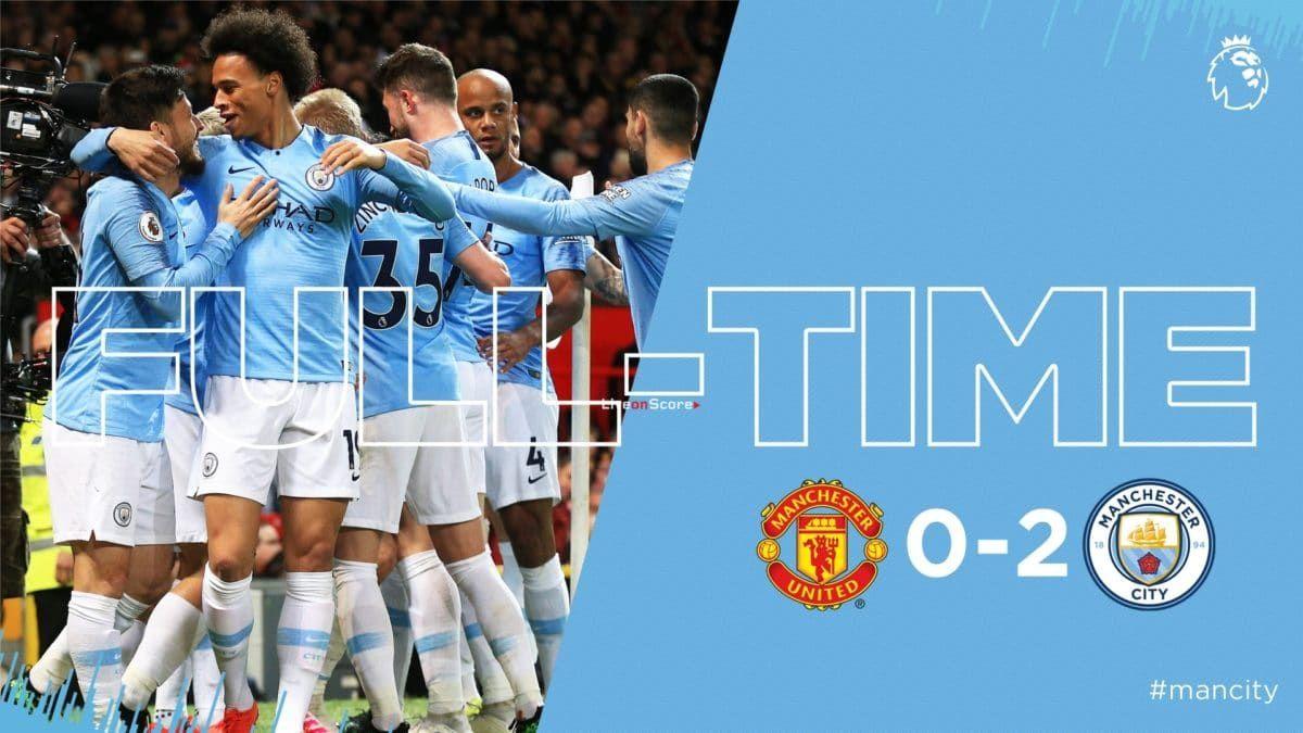 Manchester United 0 2 Manchester City Full Highlight Video Premier League 2019 Allsportsnews Football H Manchester City Manchester United Premier League