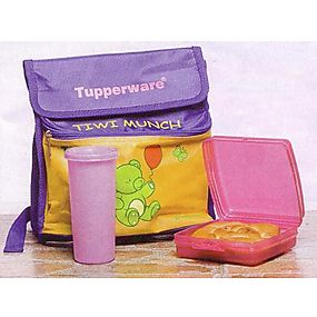 Tupperware Tiwi Munch Tiffin / Lunch Box. Organize your kitchen the Tupperware way