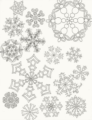 Profusion Art: Snowflake design... also on this site how
