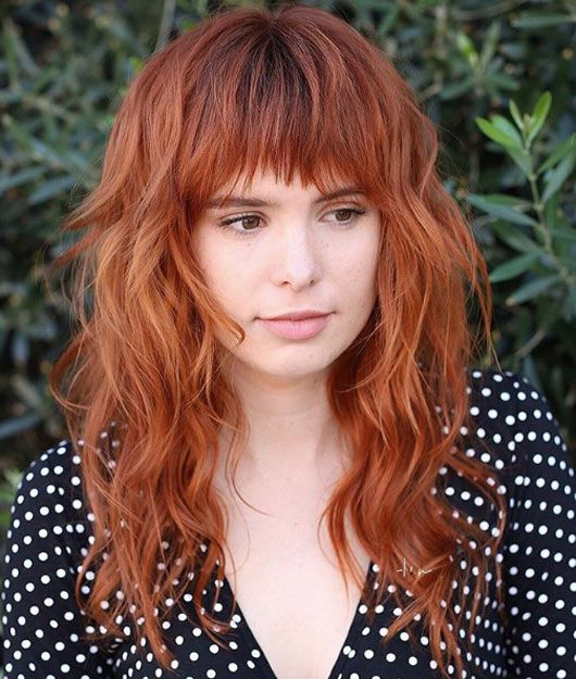 Cool Bangs For Long Hair: The 42 Hottest Hairstyles With Bangs