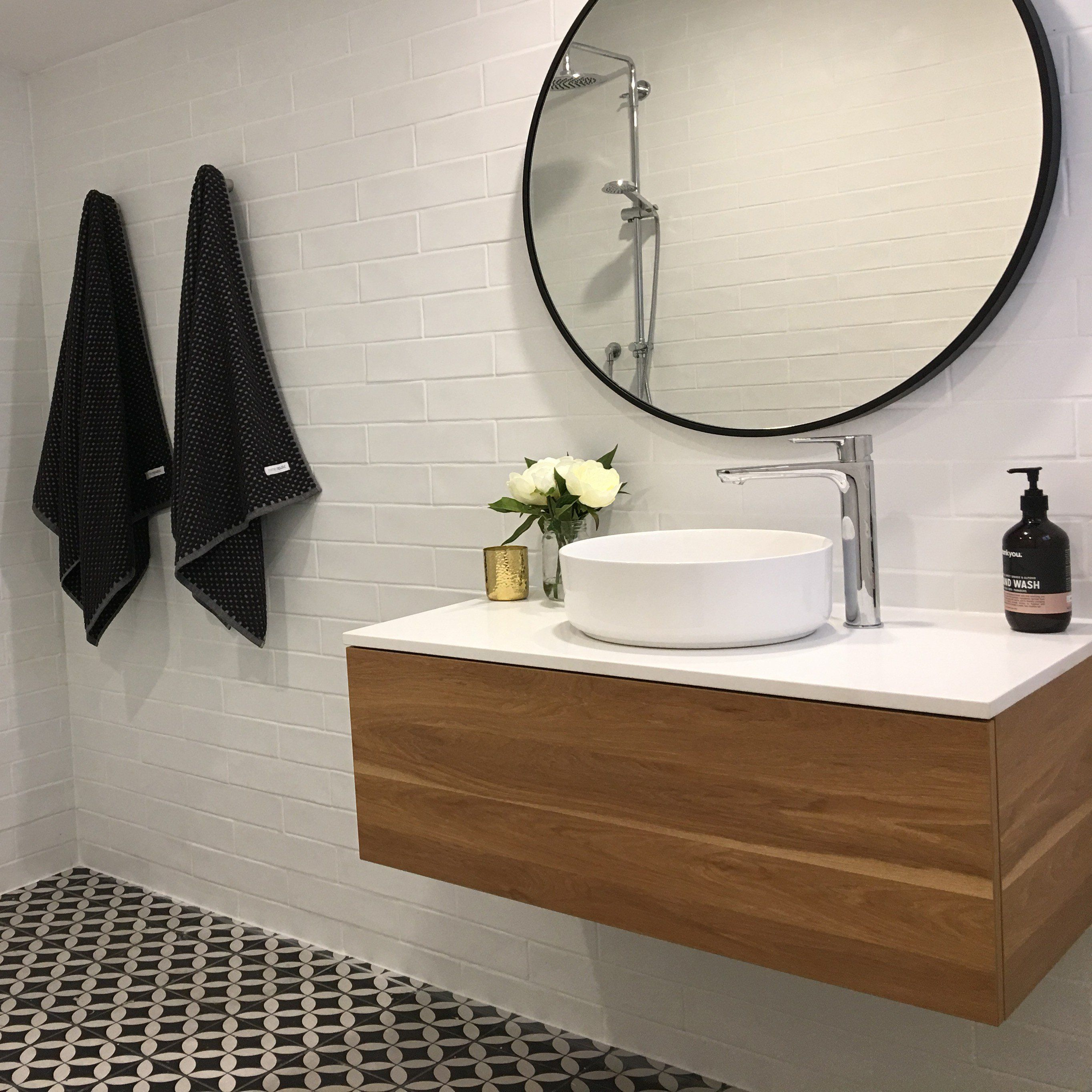 Eden Timber Wall Mount Vanity Cabinet Without Top 750mm Timber