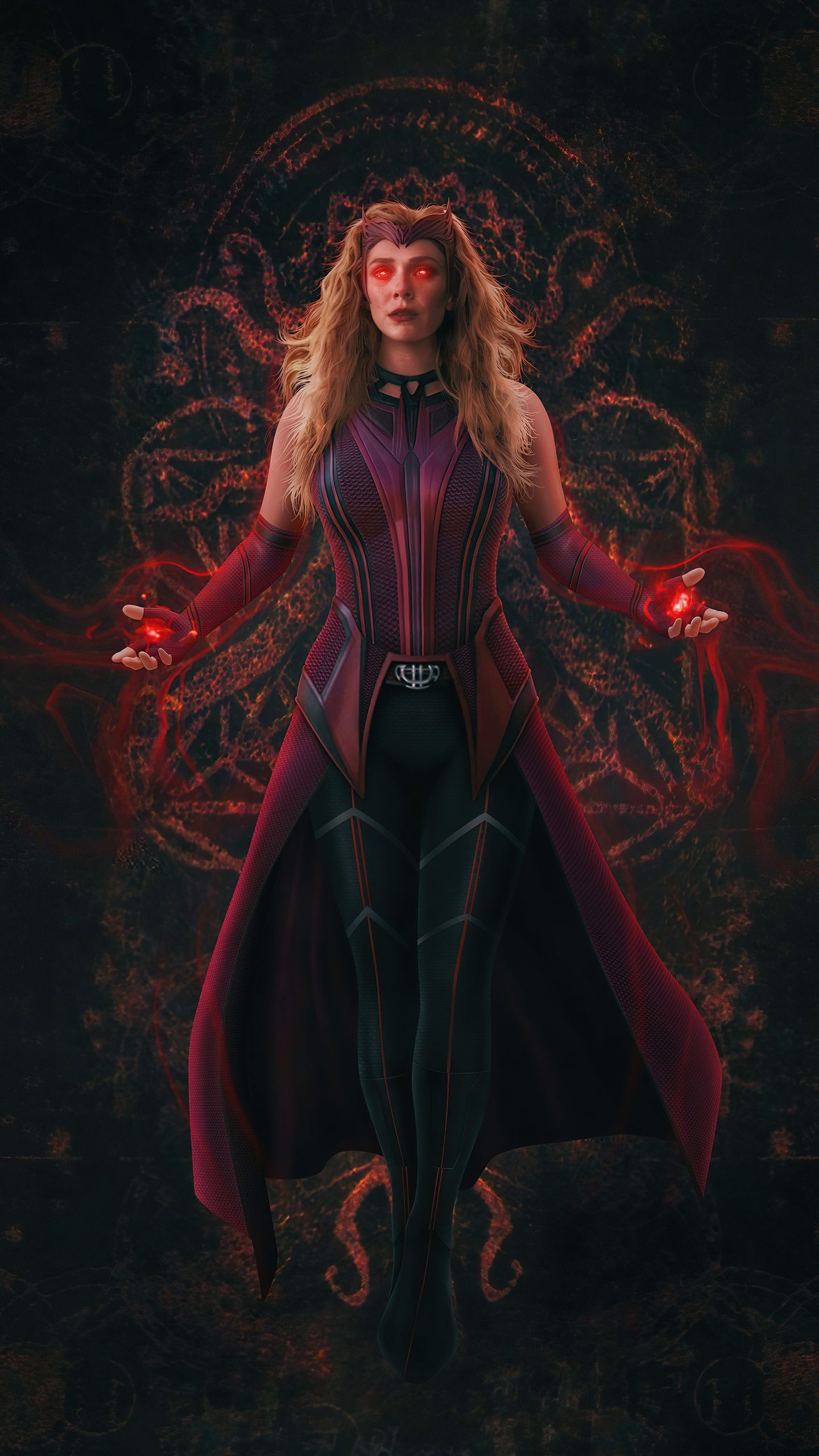 Wanda Vision Scarlet Witch Wallpapers   hdqwalls.com