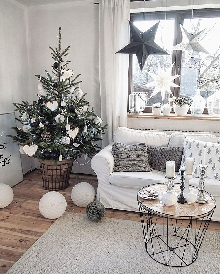 Home style christmas decorations.