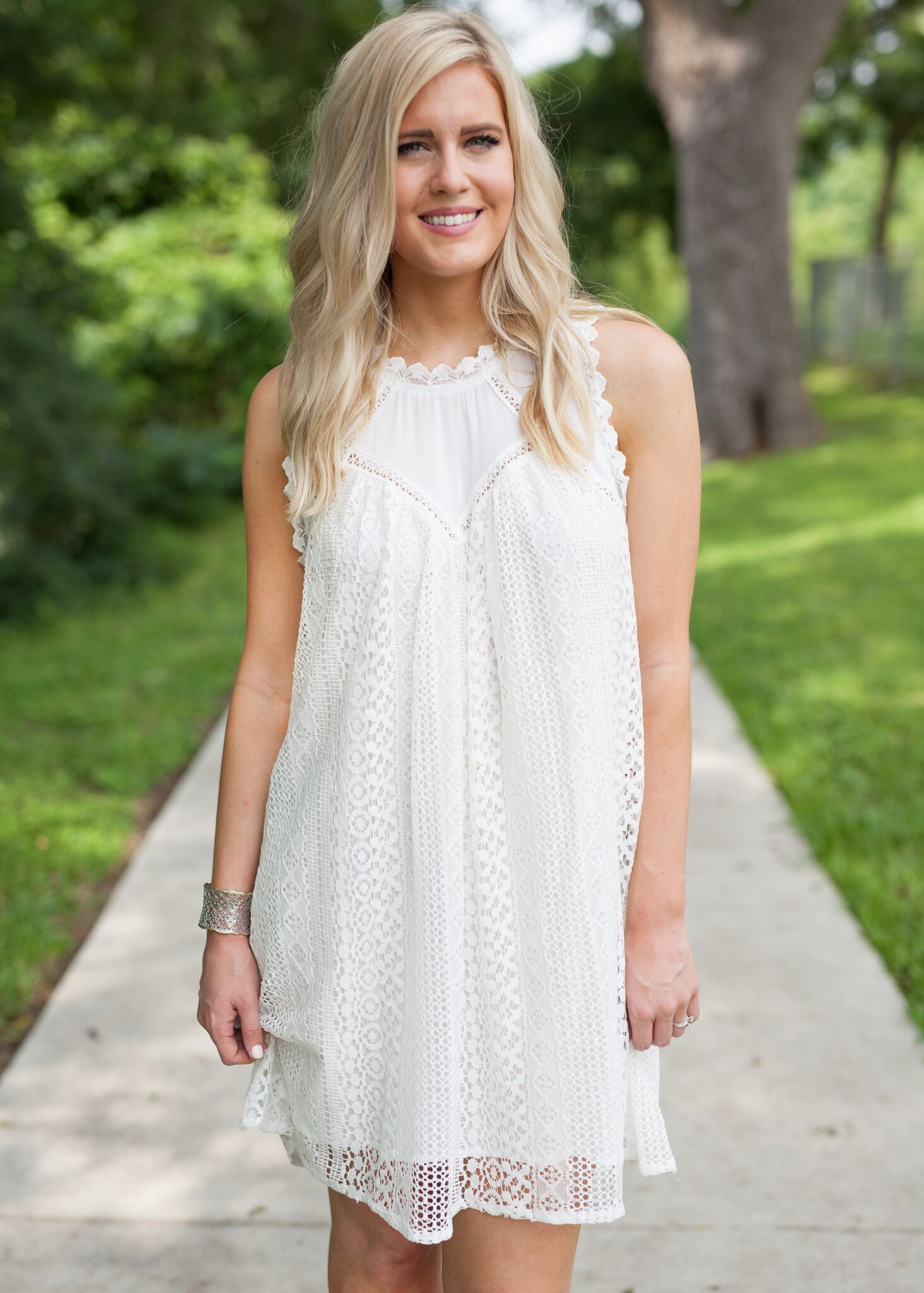 Be Still Dress - Ivory