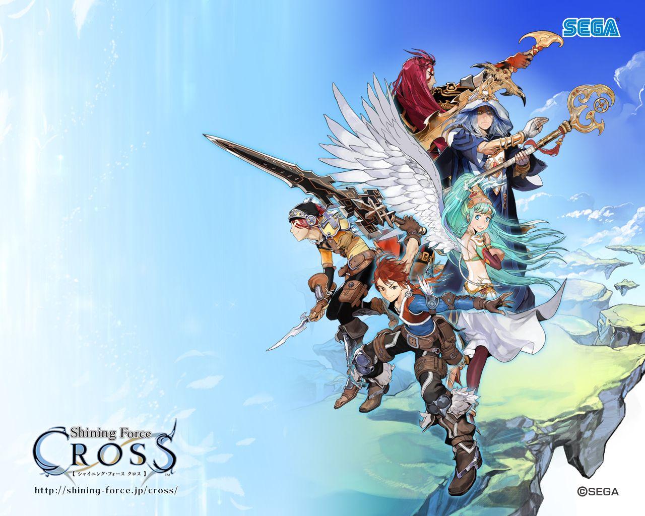 Shining Force Cross 集合絵, 絵, 廣岡