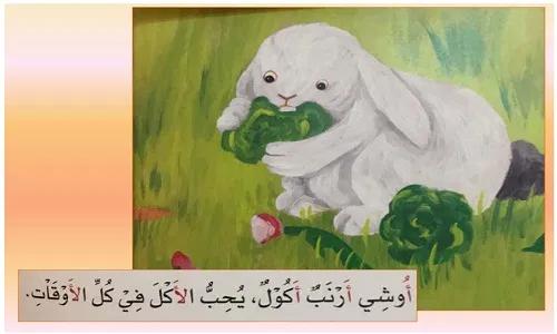 قصة أوشي الأرنب الأكول للصف الأول الابتدائي لغة عربية Pdf نتعلم ببساطة Painting Art Grinch