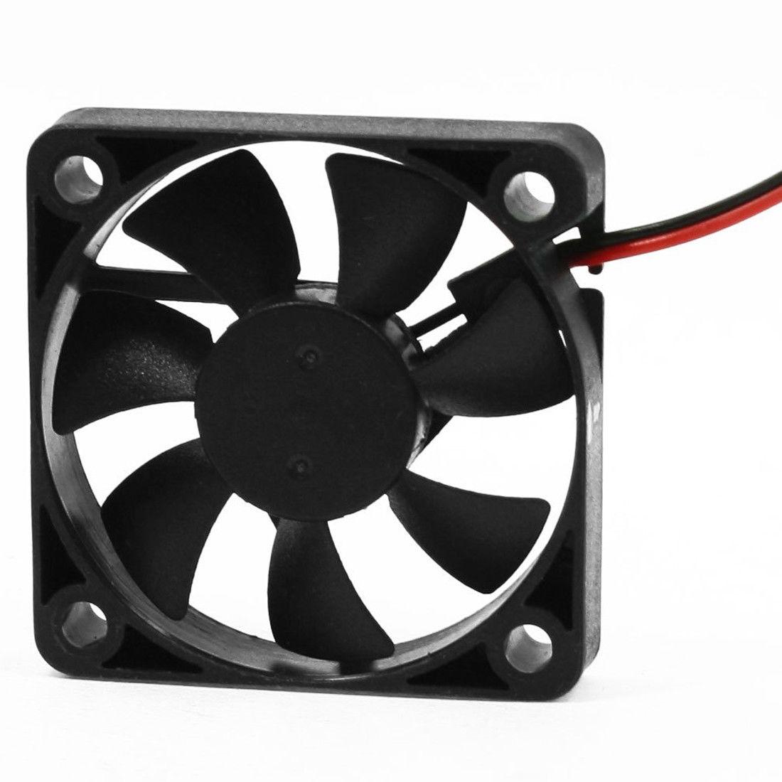 50mm x 10mm 5010B DC 12V 0.1A 2 Pin Brushless Cooling Fan Ball Bearing P