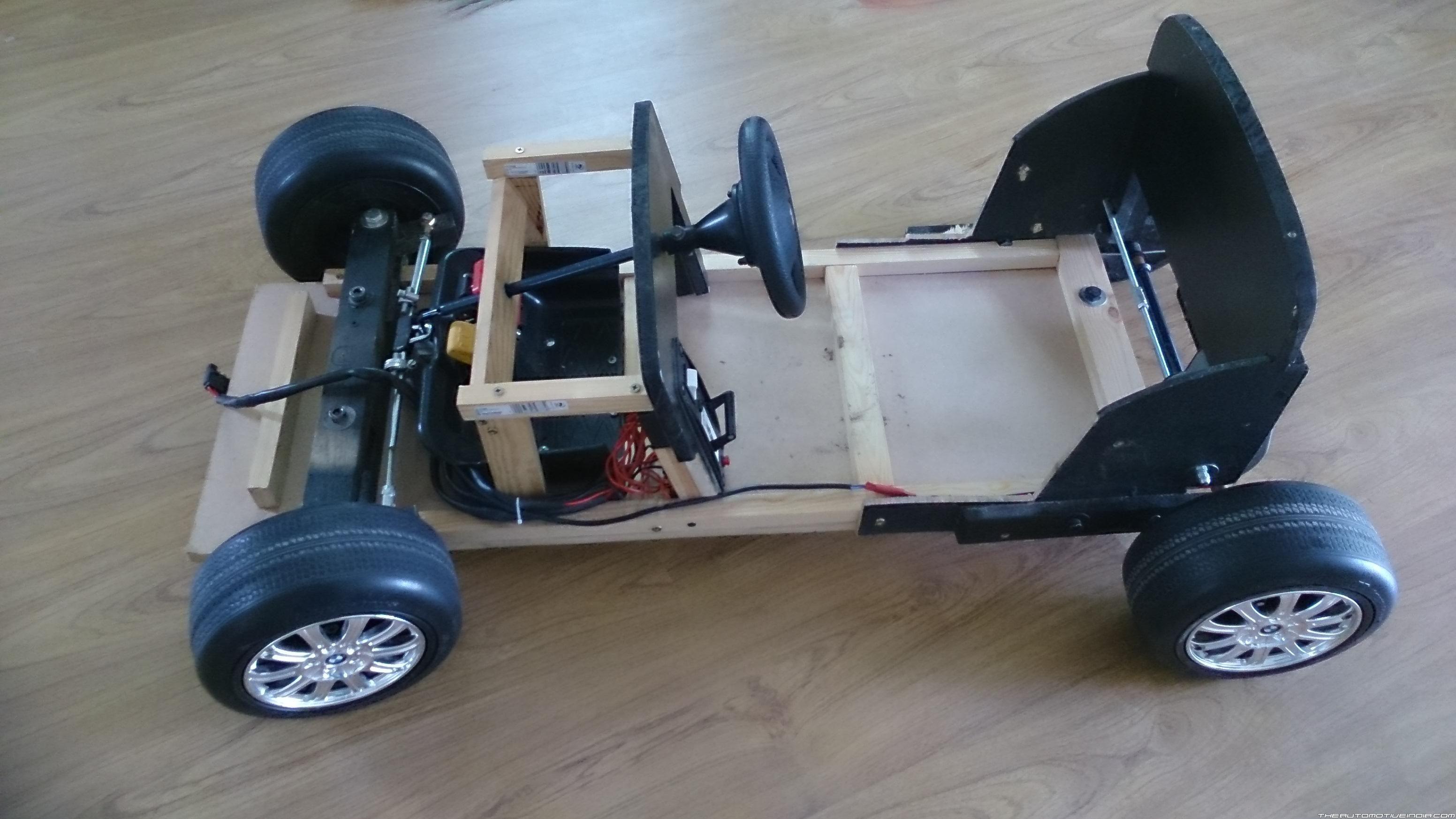 Homemade Electric Kid Car