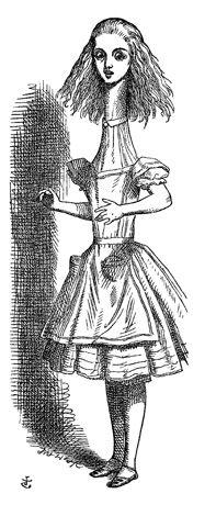 John Tenniel illustrates Alice in the Folio editions.