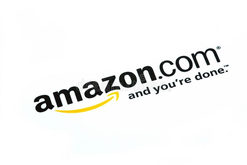 Amazon Com Logo On Internet Over White Affiliate Logo
