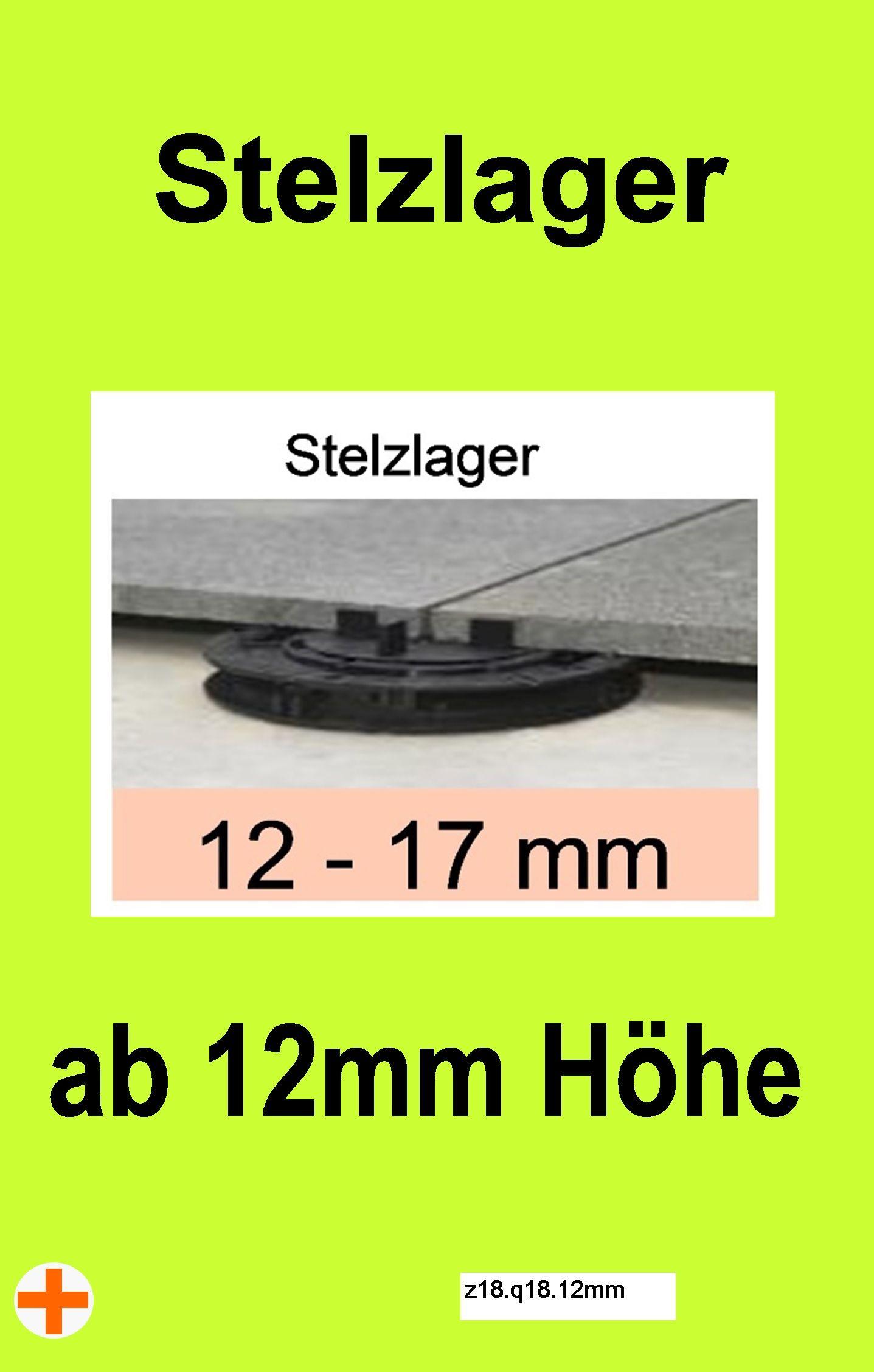 Stelzlager Fur Terrassen Und Balkons Angebote Ab 12mm Hohe Bis 300mm Verlegung Durchmesser 150mm Stelzenlage Stelzlager Terrassen Platten Stelzen
