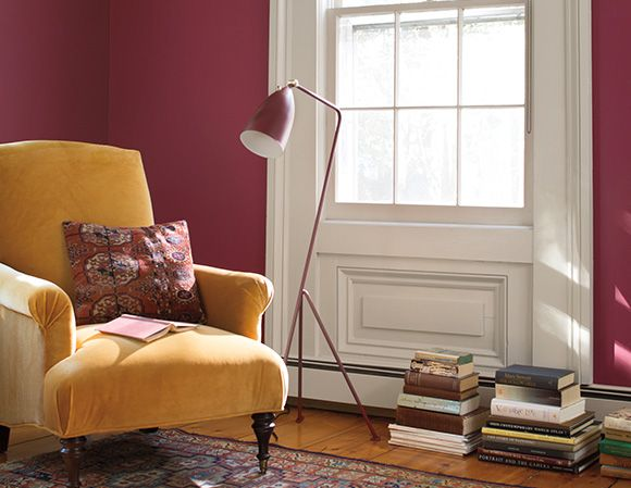 Color Collections Benjamin Moore S Cranberry Cocktail