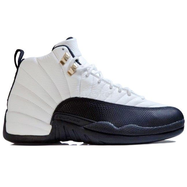 "130690-125 Air Jordan 12 Retro ""Taxi"" White/Black-Taxi $139.99"
