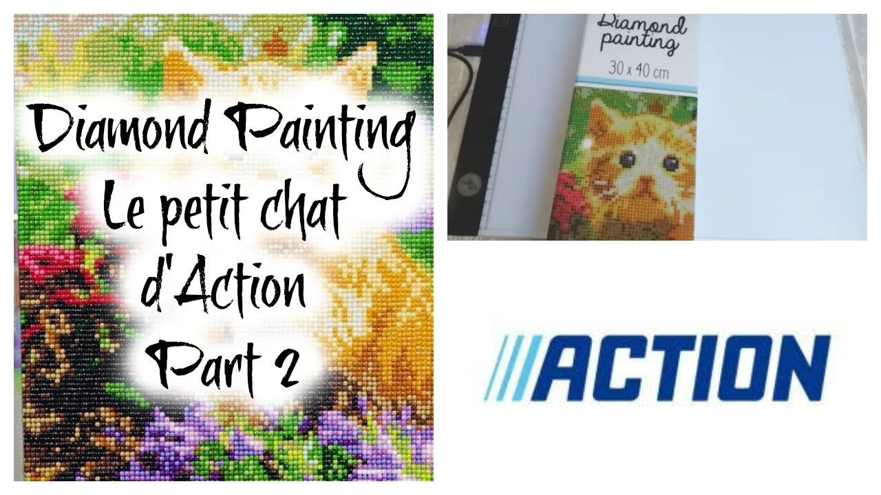 Diamond Painting Le Petit Chat D Action Part 2