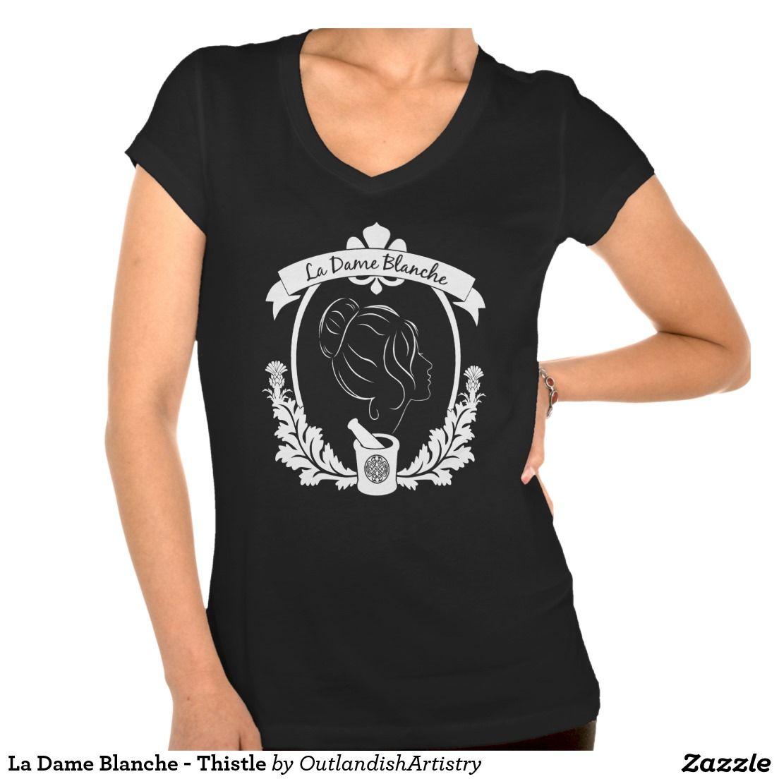 La Dame Blanche - Thistle T-shirt 2xl