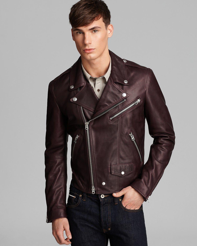 Burberry Brit Wroxton Leather Jacket Men Coats Jackets Bloomingdale S Mens Leather Pants Leather Jeans Men Leather Jacket Men [ 1500 x 1200 Pixel ]
