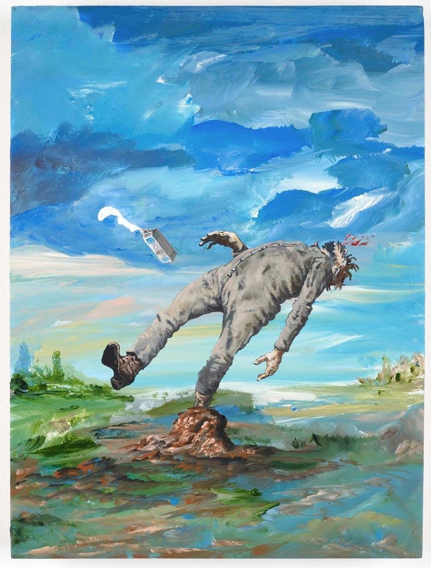 DJORDJE OZBOLT http://www.widewalls.ch/artist/djordje-ozbolt/ #contemporary #art #painting #sculpture