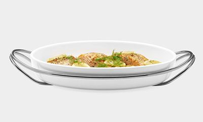 oven-to-table dish (MoMA store)
