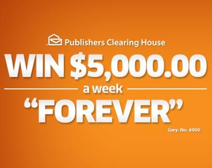 Pch 5000 A Week Forever Sweepstakes Gwy 6900 Who Will Be The Next