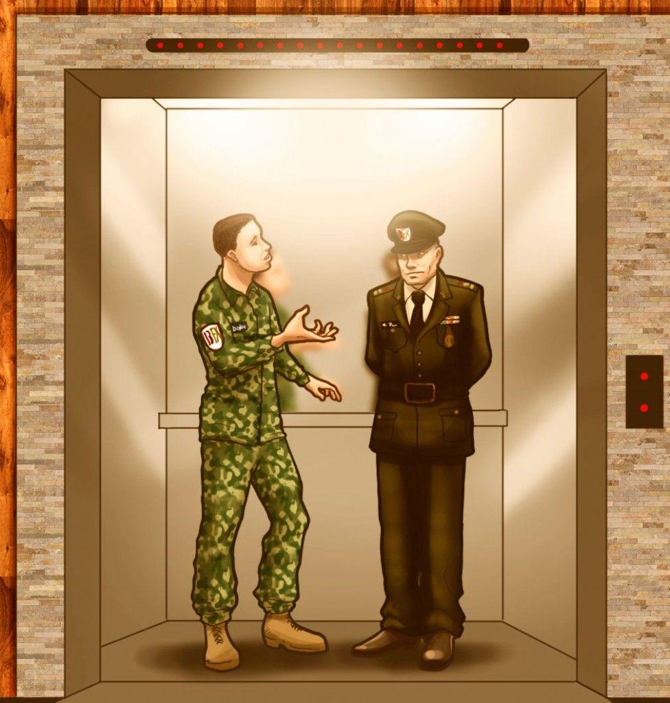 Capítulo 13 - Todo llega cuando menos esperas - Primera Temporada. entro al elevador sin fijarse, estaba totalmente absorto en sus pensamientos, de pronto escucho una voz familiar que se dirigía a el –Tienes aspecto de que hubieras tenido 50% de ganancias en la última posición en la que entraste Roque- era el mismo Mr. PeFI en persona