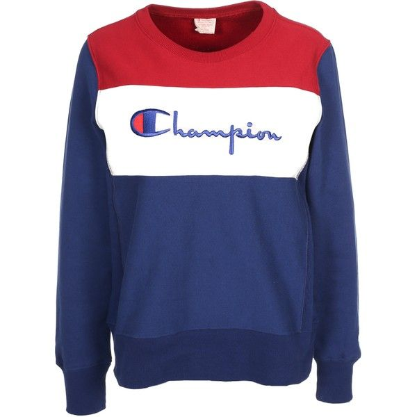 Champion Crewneck Sweatshirt ($135) ❤ liked on Polyvore featuring ...