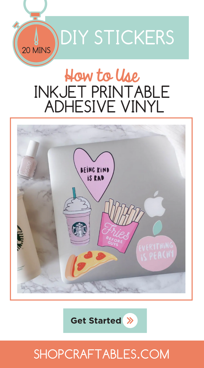 picture about Printable Adhesive Vinyl called Pin upon Craftables Blog site