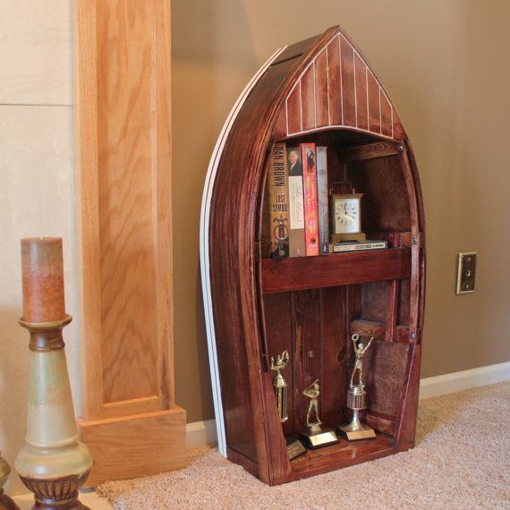 Charming Top 33 Creative Bookshelves Designs | Boat Bookcase, Bookshelf Design And  Woods Good Ideas