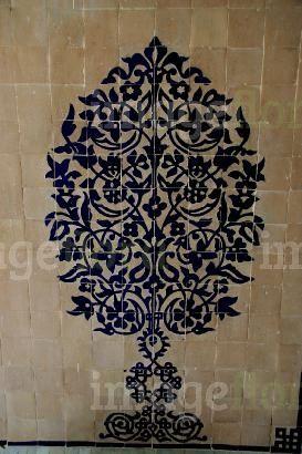 Arabic Islamic Tiles Decorative Morocco
