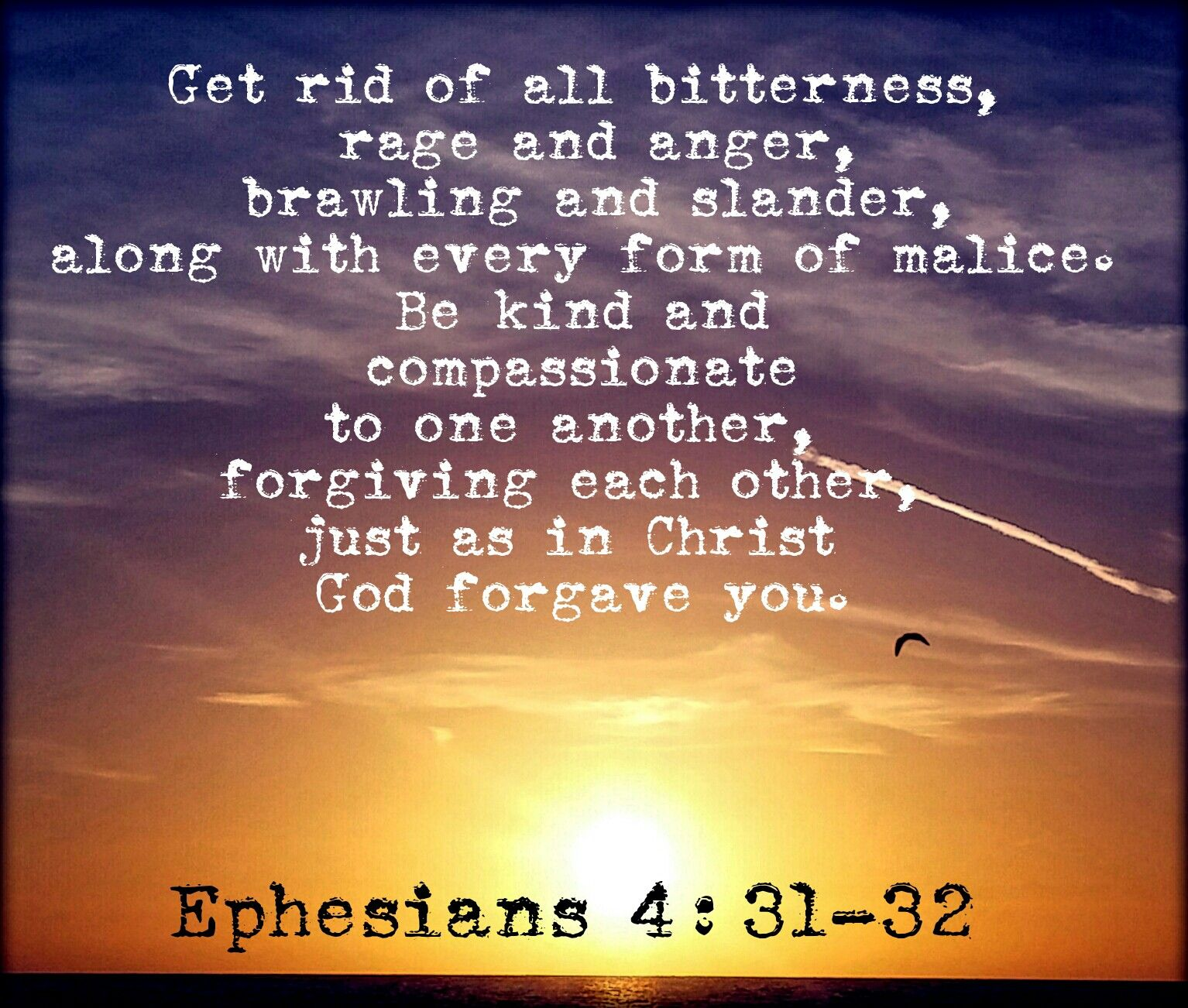 Image result for Ephesians 4:31-32