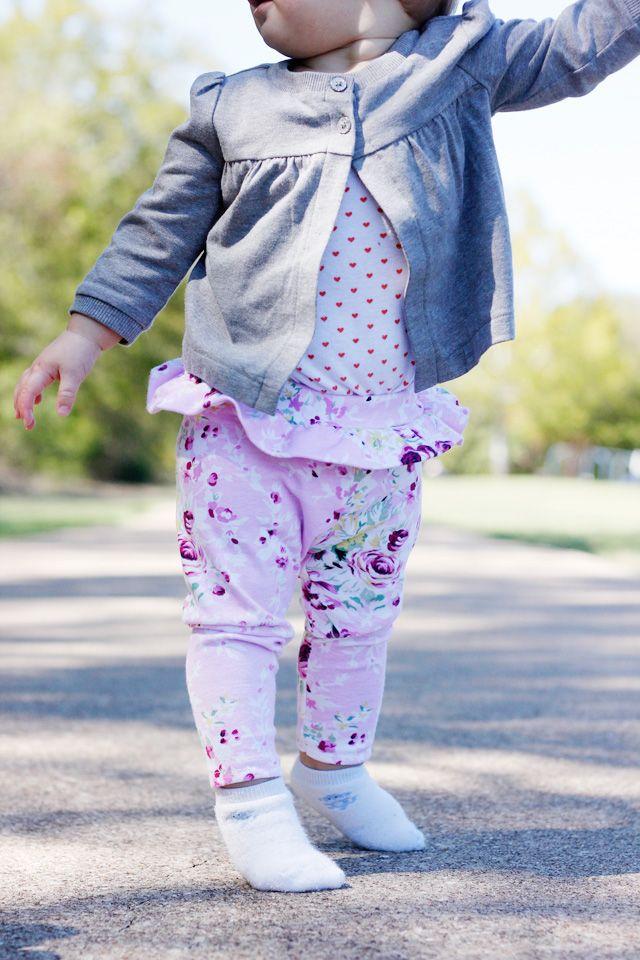 baby style: tutu leggings hack | Leggings, Anleitungen und Schnittmuster