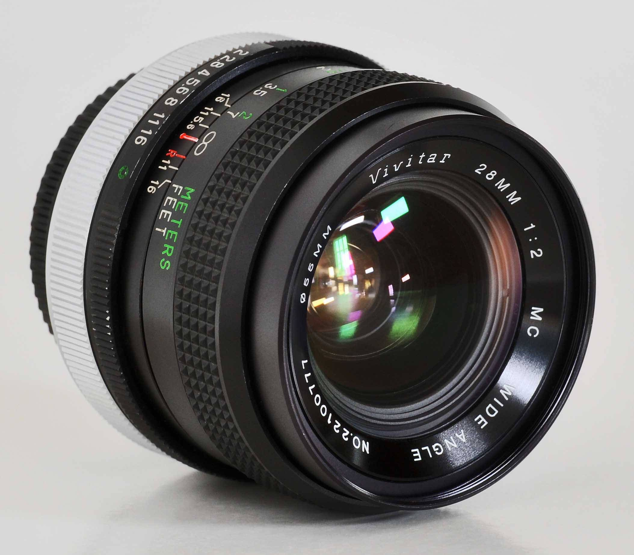 Canon Fd 28mm F 2 Wide Angle Prime Lens Ae 1 A 1 F 1 T90 T70 Sony Nex Minty Except For Prime Lens Wide Angle Photography Gear
