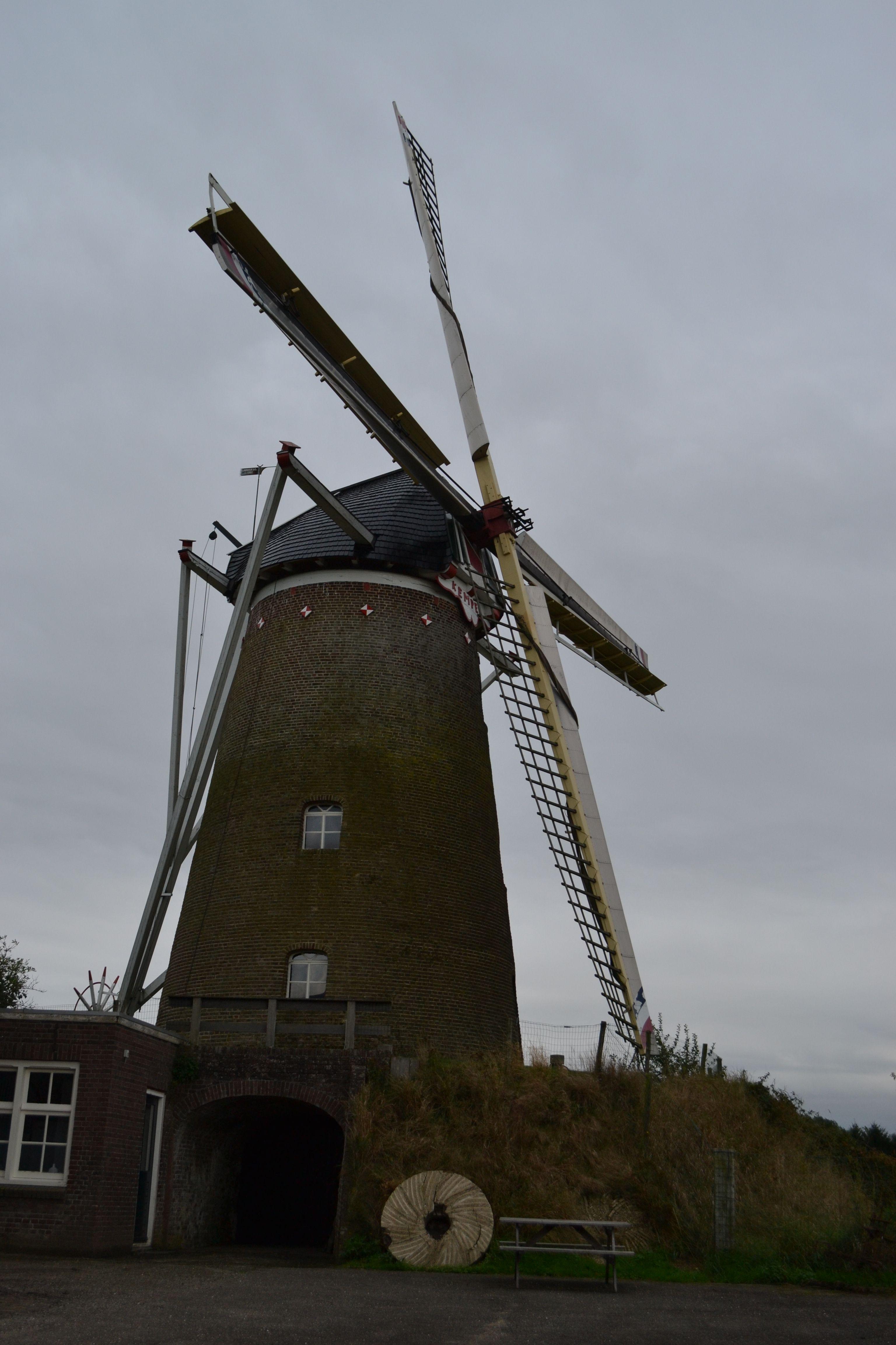 A windmill located between Gendingen and Aalten in the Netherlands.