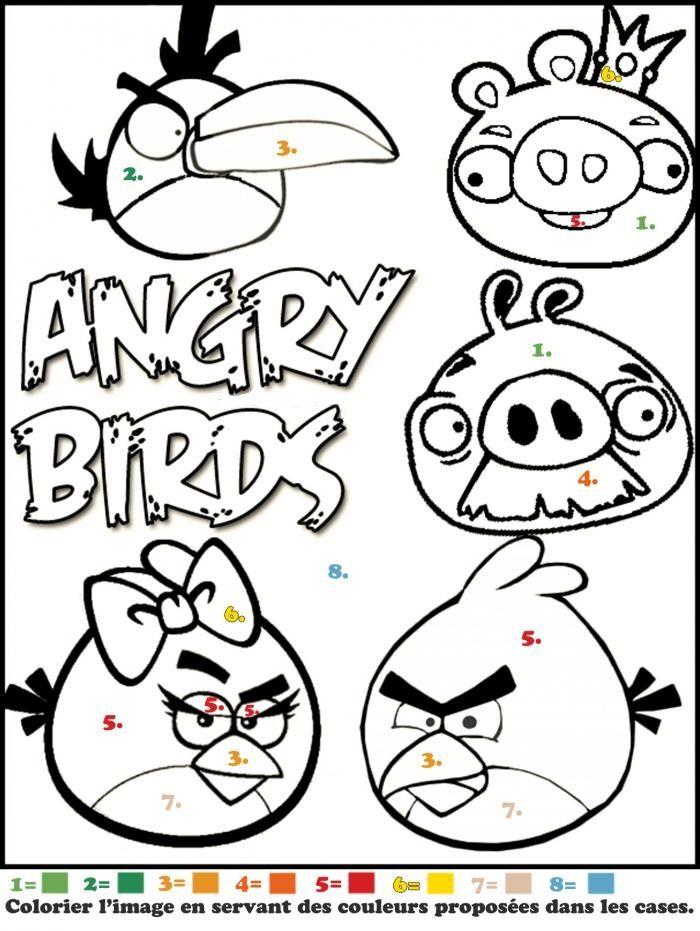 coloriage magique angry sur jeudefille com coloriage