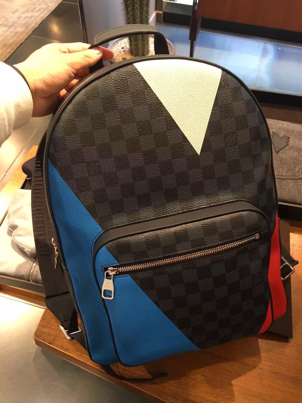 0cdfa9b4a9d5  americacup  americascup  louisvuittonbackpack  backpack  lv  purses   handbag www.luxvipshopper.com Louis Vuitton America s Cup Josh Backpack  N41612