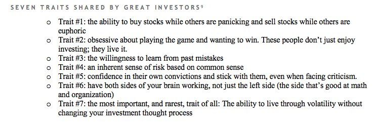 Andrew M Kuhn On Investing Investors Good Things