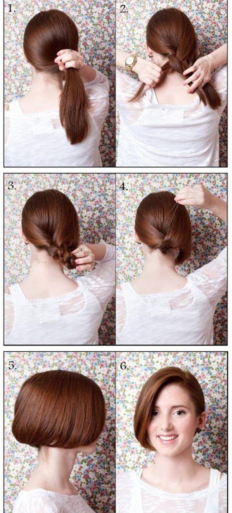 10 Peinados super sencillos de hacer que le facilitarán la vida a ...