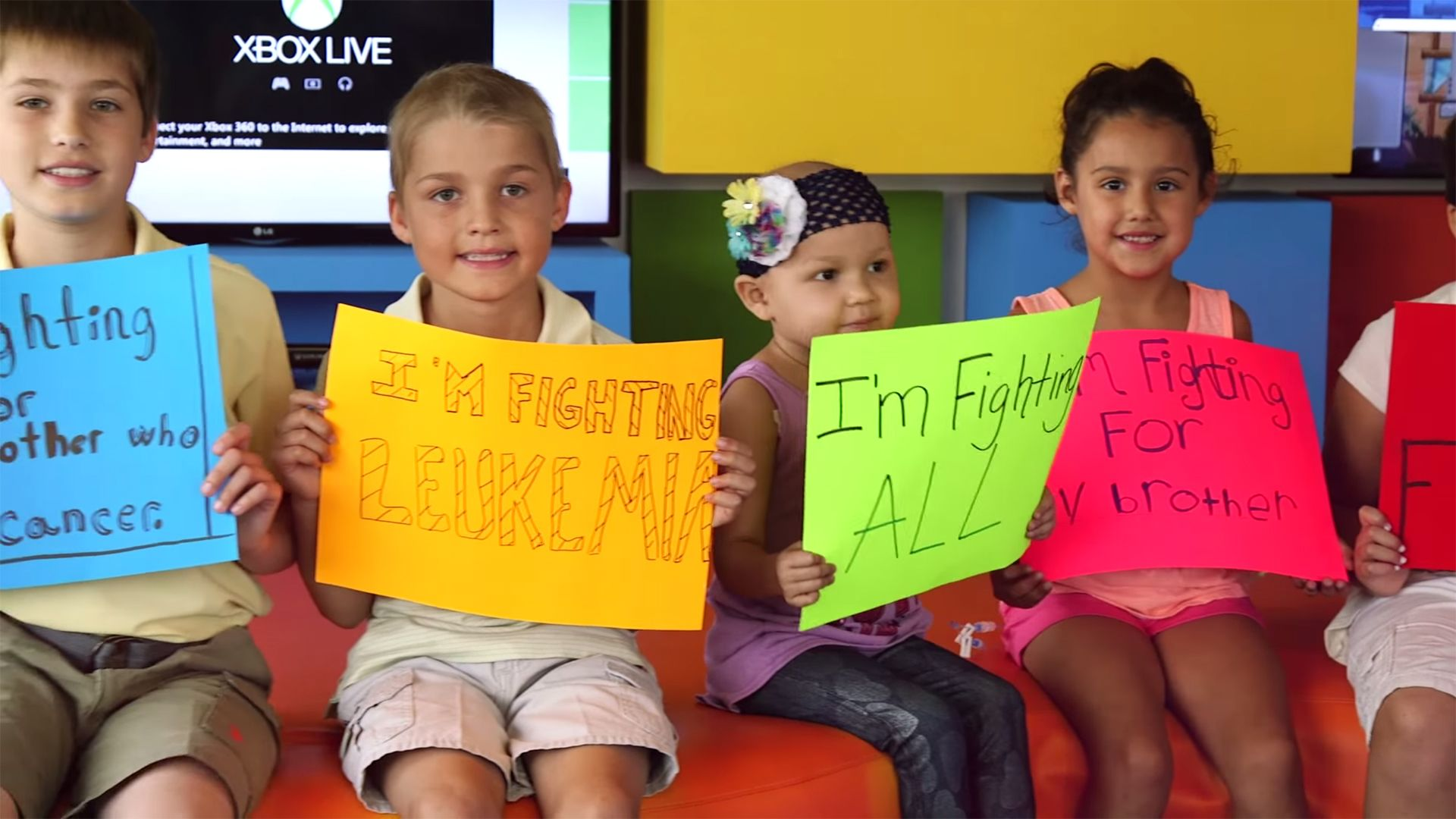 See children's hospital perform 'Fight Song' in inspiring video
