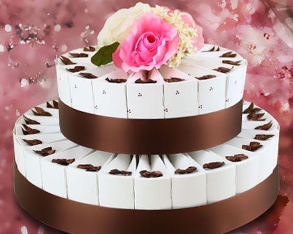 Truffles Delight Wedding Favor Cake Kit