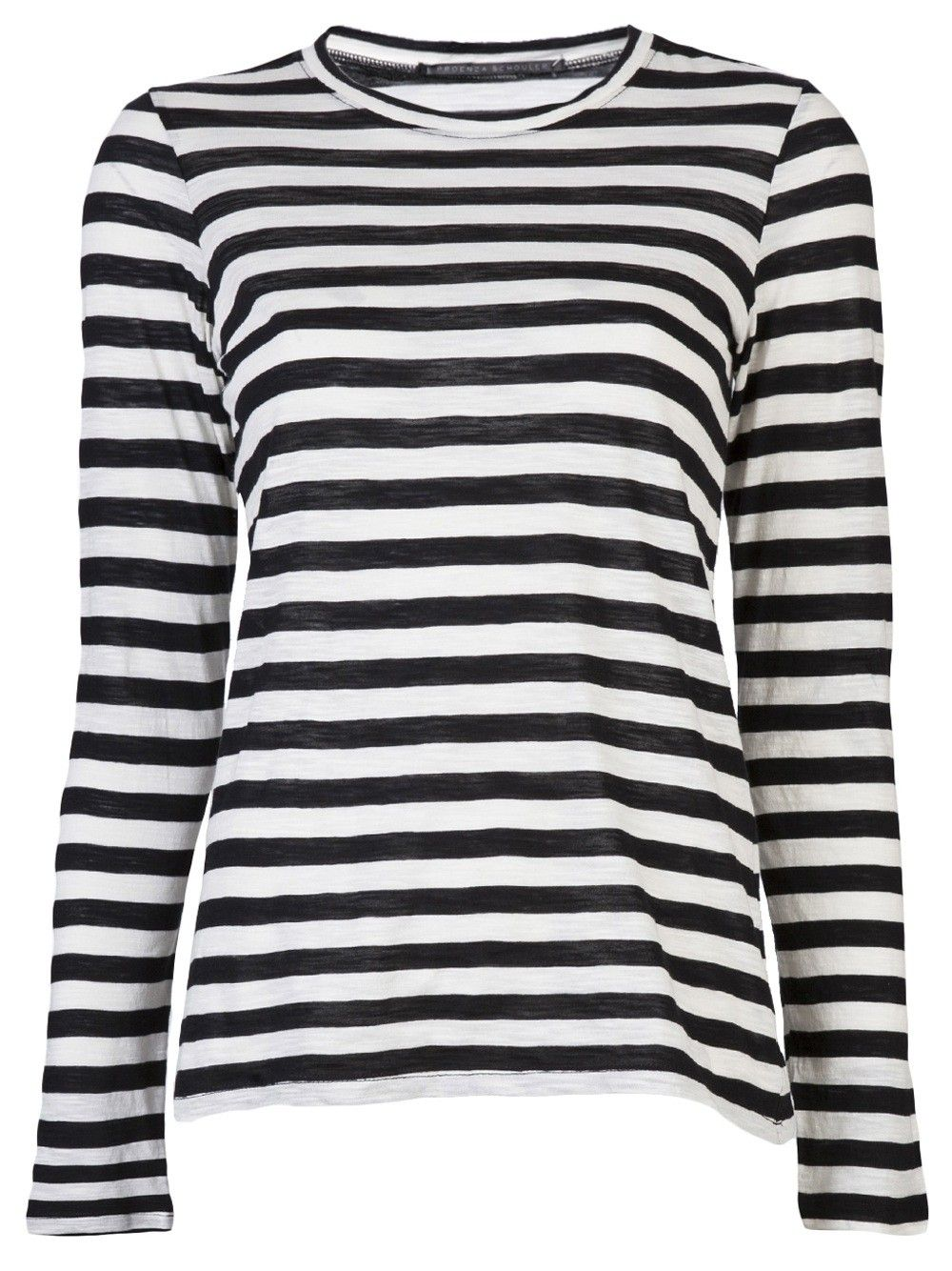 black and white striped t shirt long sleeve