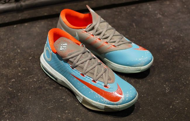 "buy online 95377 03689 Nike KD VI ""Maryland Blue Crab"" (Release Info)"
