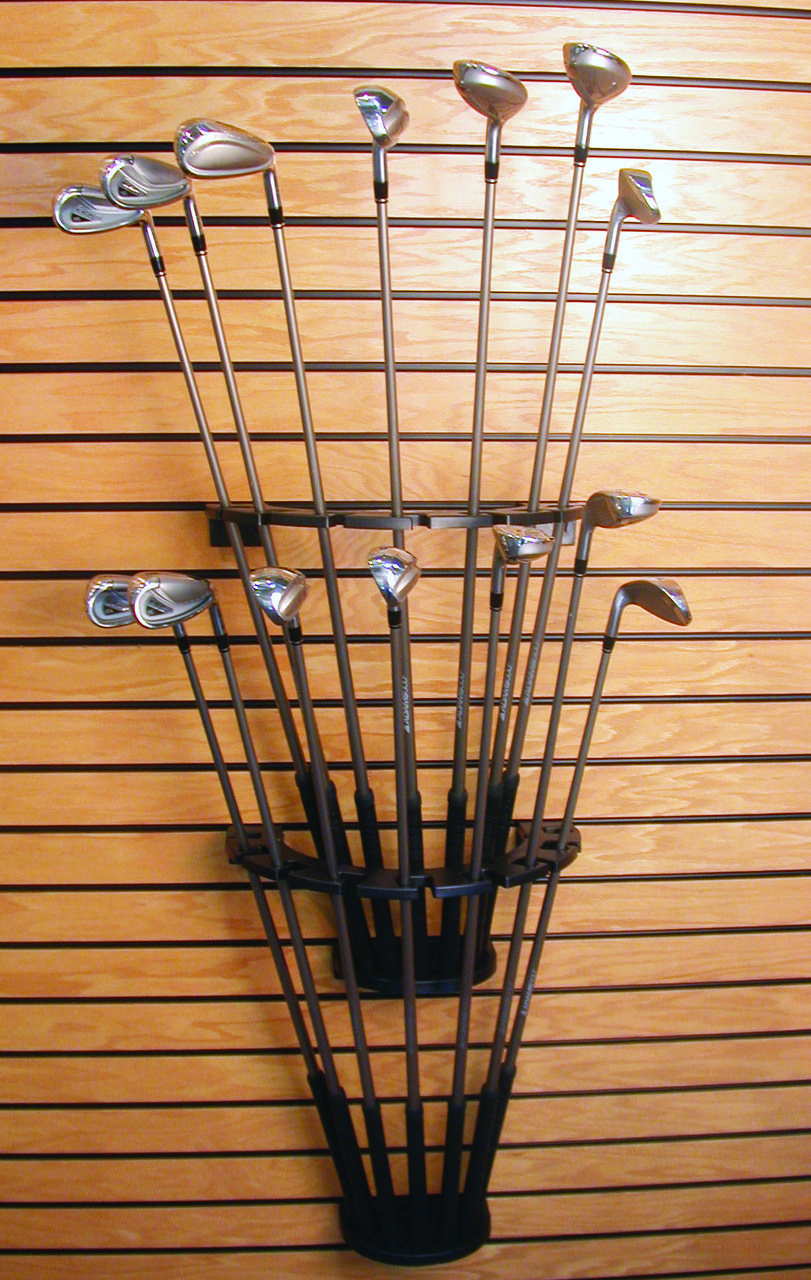 Golf Club Display Rack