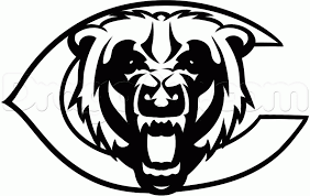 Chicago Bears Logo Google Search In 2020 Bear Coloring Pages Chicago Bears Coloring Pages