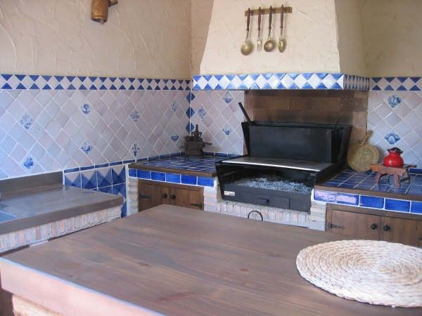 Cocina con azulejos rusticos buscar con google ideas - Azulejos rusticos cocina ...
