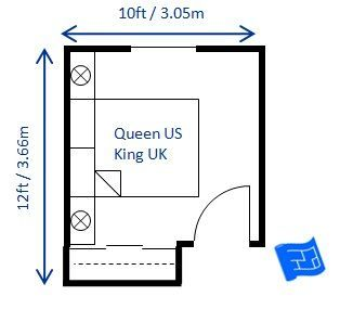 Perfect Bedroom Sizes For The Your Suite This Should Make House Ping Much Easier