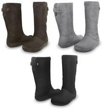 e4a8986ad8 Crocs Berryessa Tall Suede Boot Womens Winter Boot Shoes. Crocs are doing  some great boot styles just now  )