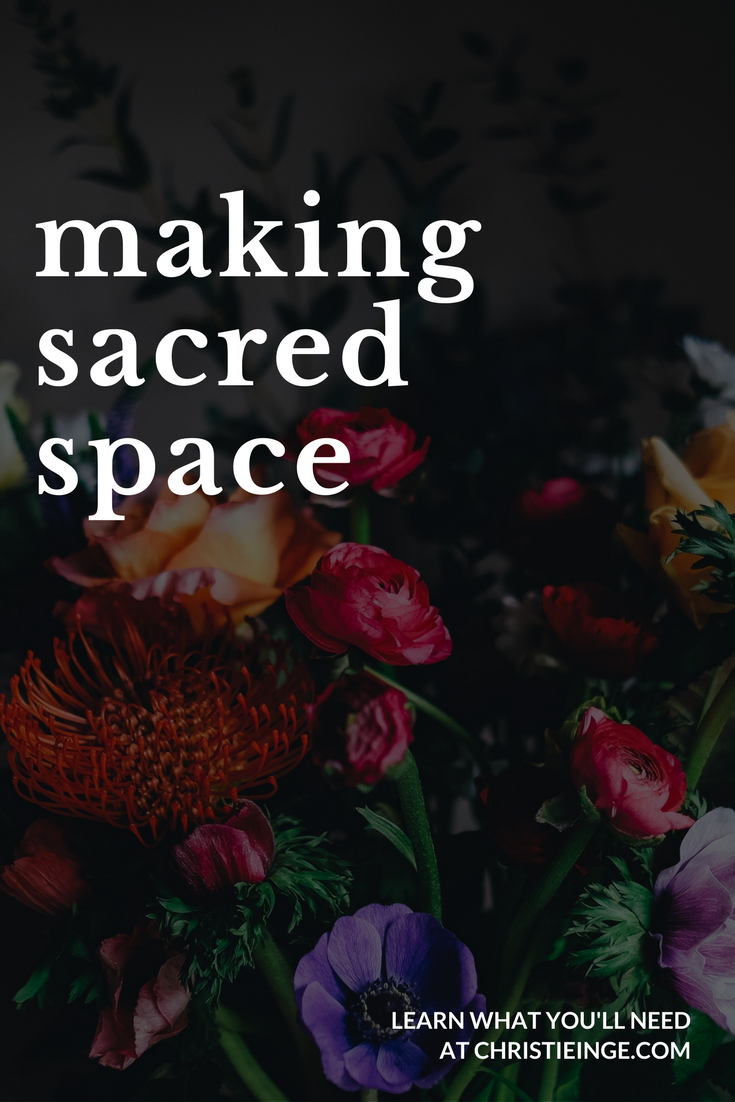 14 Ideas for Creating Sacred Space at Home | Polster