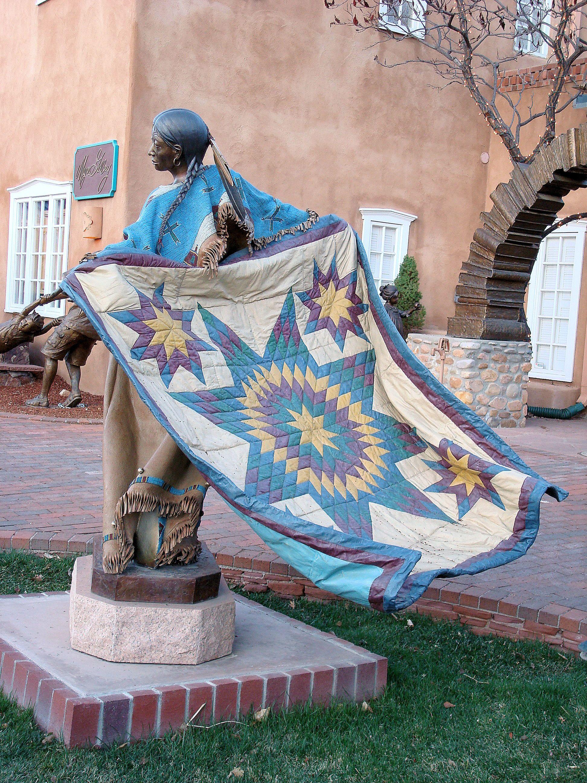 Bronze Sculpture Canyon Road Santa Fe Nm