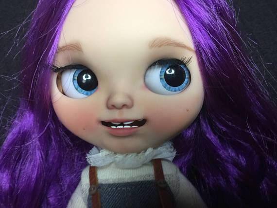 Custom Doll for Adoption by Beatricemblythe - http://etsy.me/2ryGnkG Check all weekly dolls for adoption here: http://ift.tt/2lbVttq